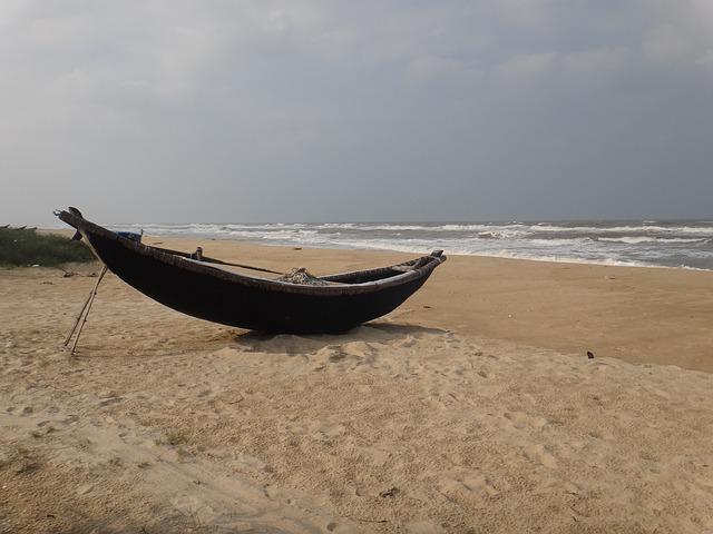 Sea, Vietnam, Beach, Boot, Fishing Boat, Holiday