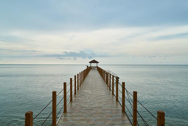 Iskele, Landscape, Wood, Beach, Blue, Holiday