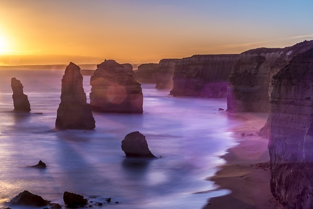 Apostles, Beach, Light
