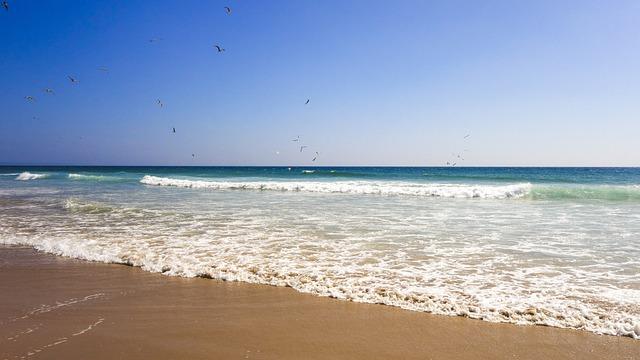 Beach, Sea, Summer, Vacations, By The Sea, Lisbon