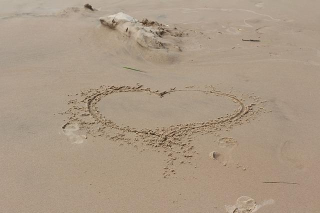 Heart, Love, Romantic, Shape, Icon, Beach, Symbol