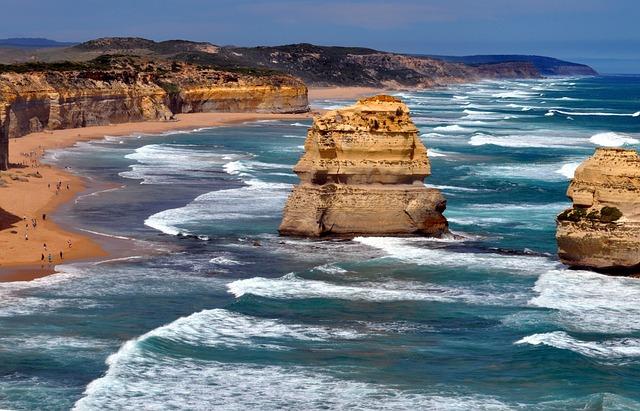 Australia, Beach, Ocean