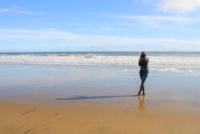 Girl, Ocean, Santa Barbara, Beach, Summer, Vacation