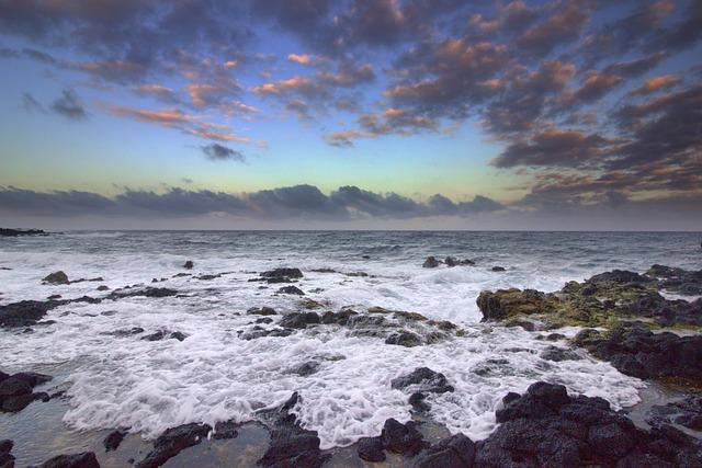 Sunset, Hawaii, Beach, Ocean, Landscapes