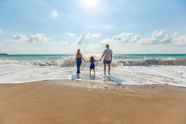 Beach, Family, Fun, Leisure, Ocean, Relaxation, Sand