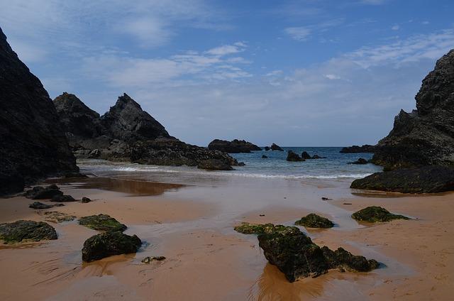 Belle-ile, Beach, Rocks, Landscape, Nature, Guard