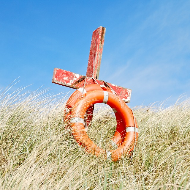 Cross, Saved, Beach, Ring