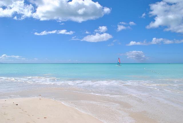 Caribbean, Beach, Sea, Sand, Antigua