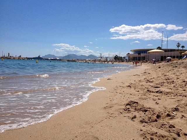 Beach, Sea, Cannes