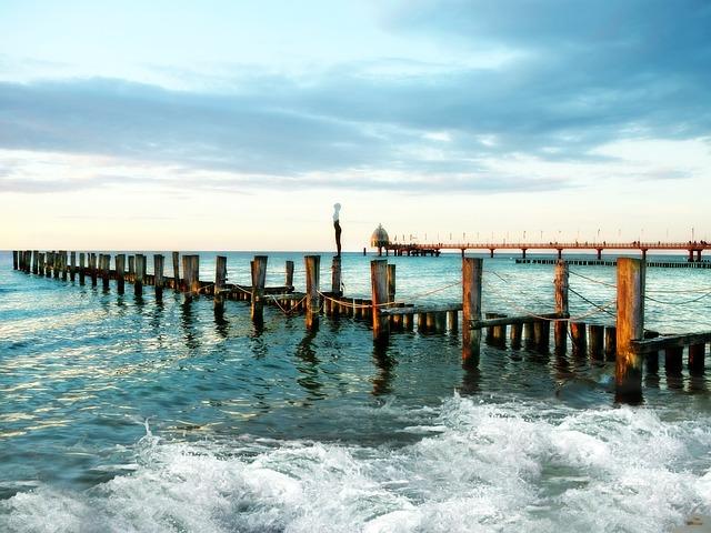 Zingst, Darß, Baltic Sea, Beach, Sea, Coast, Mood