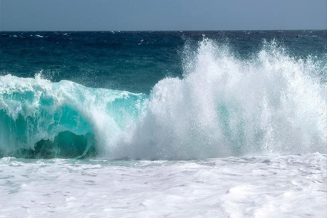 Landscape, Wave, Sea, Beach, Foam, Blue, Costa, Marina