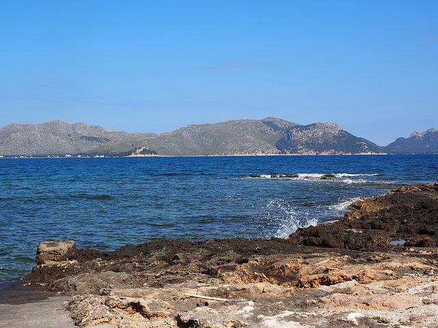 Booked, Mallorca, Bay Of Pollensa, Sea, Beach, Coast