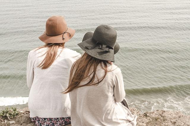 Beach, Hats, Ocean, Outdoors, People, Sand, Sea
