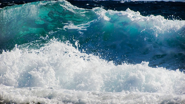 Wave, Smashing, Sea, Beach, Nature, Spray, Foam, Power