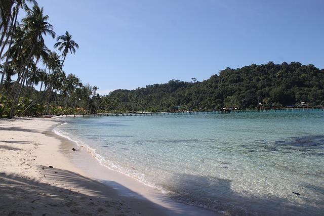 Thailand, The Island Of Koh Kood, Beach, Water, Sea