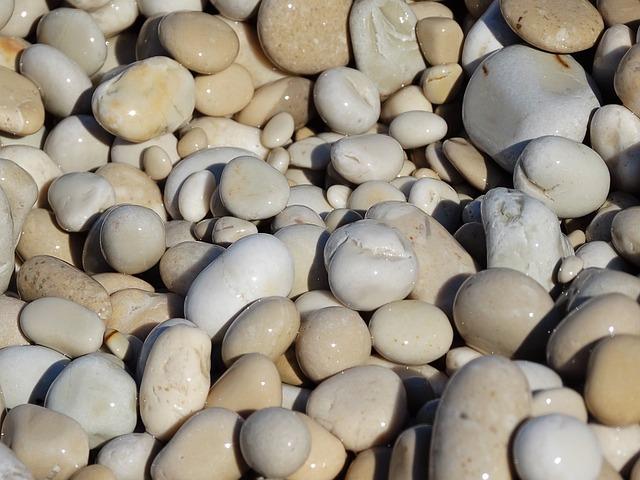 Stones, Pebbles, Beach