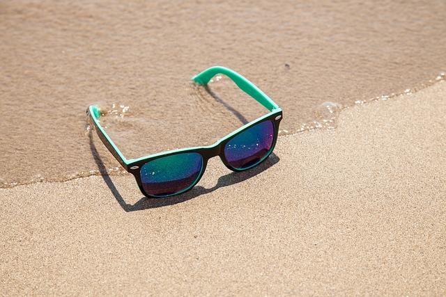 Sunglasses, Sun Protection, Beach, Vacation, Summer