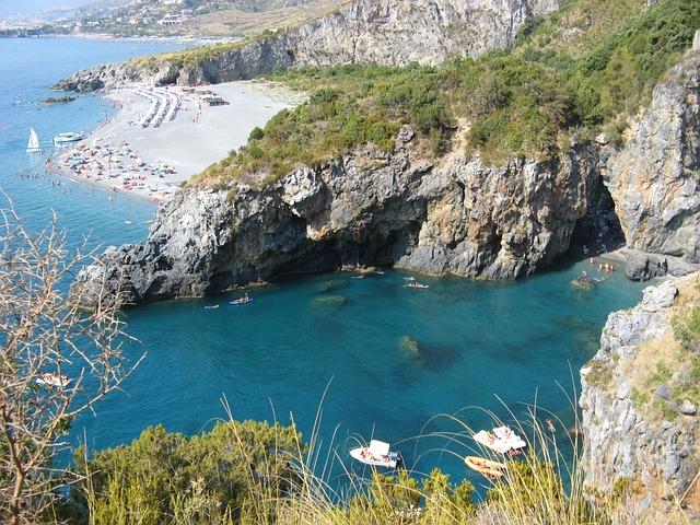 Calabria, San Nicola Arcella, Sea, Summer, Beach, Sun