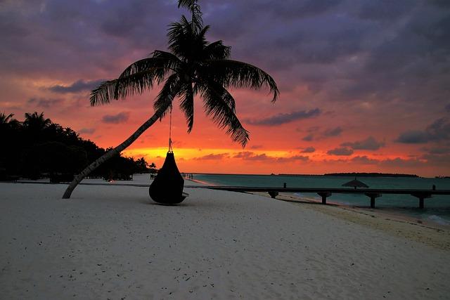 Palma, Beach, Sand, The Coast, Sunset, The Tropical