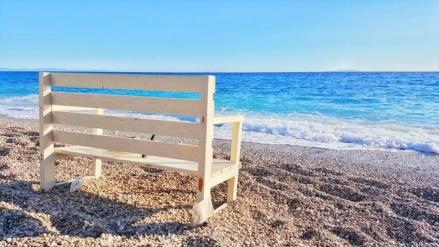 Beach, Chair, Sand, Summer, Sun, Sunrise, Sunset