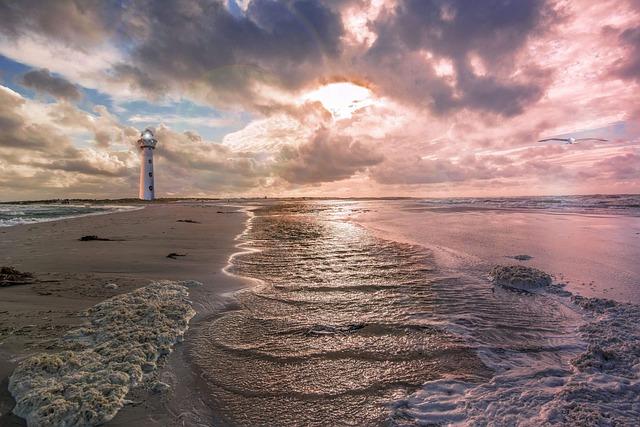 Waters, Beach, Sea, Coast, Nature