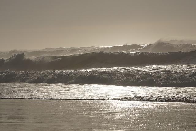 Beach, Waves, Ocean, Sand, Atlantic, Wind, Landscape