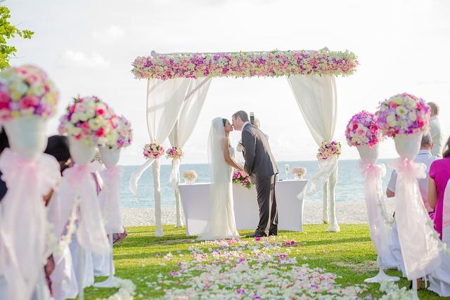 Flower Achway, Beach Wedding, Wedding