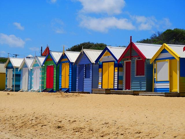 Beachhouse, Boathouse, Beach, Sand, Shore, Australia