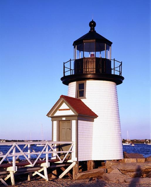Lighthouse, Tower, Beacon, Building, Coast, Sky, Sea
