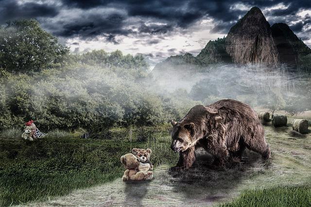 Nature, Travel, Landscape, Sky, Bear, Romatiik