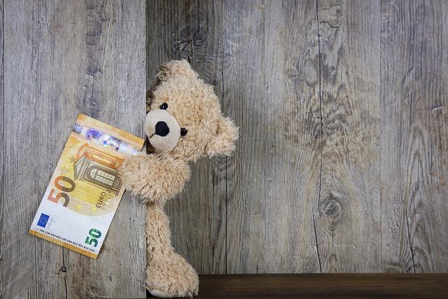 Money, Euro, 50 Euro, 50, Banknote, Cash, Bear