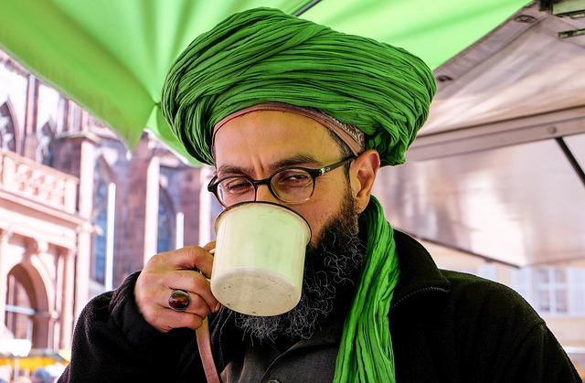 Man, Turban, Portrait, Beard, Dealer