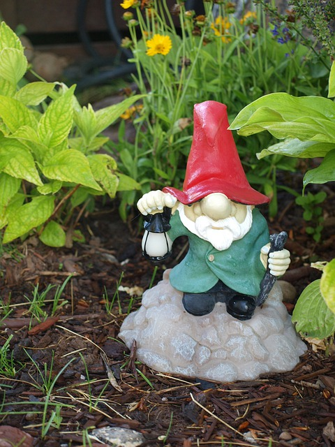 Gnome, Dwarf, Garden, Figure, Beard, Character, Hat