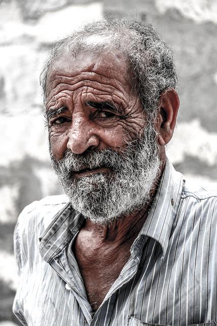 Portrait, People, Man, Adult, Old, Face, Beard