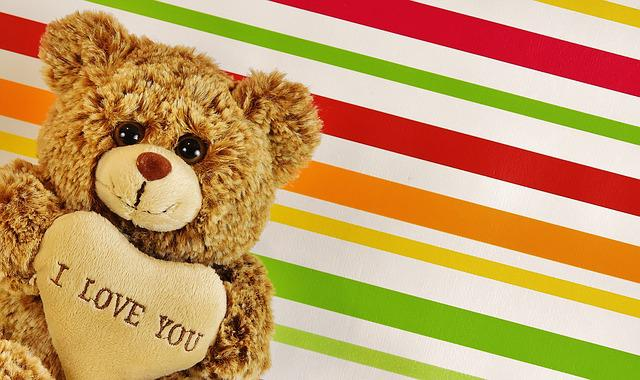 Love, Teddy, Bears, Cute, Stuffed Animal