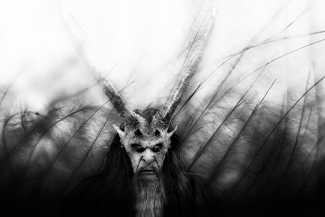 Scary Man, Beast, Mask, Monster, Dark
