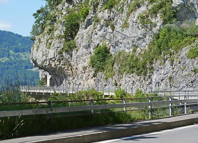 Switzerland, Thun, Seestrasse, Beatenberg, North Side