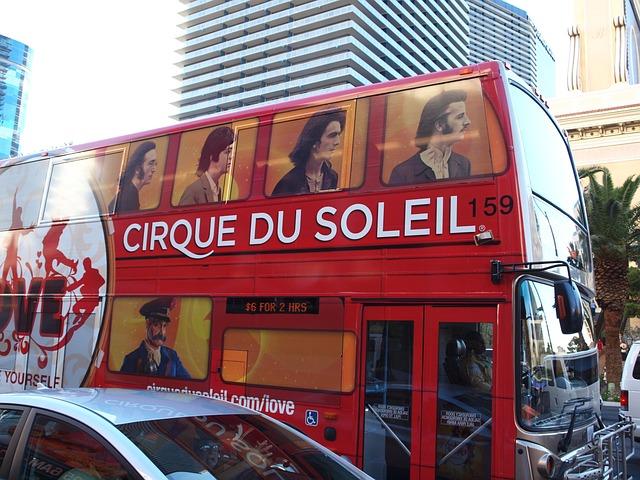 Las Vegas, Bus, Beatles, The Beatles