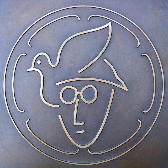 John Lennon, Memorial Plaque, Plackette, Beatles