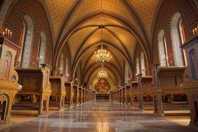 Church, Chapel, Architecture, Beautiful, Red, Brown