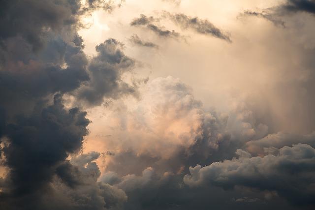 Beautiful, Clouds, Cirrus, Blue, White, Cloudscape, Sky