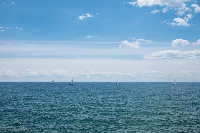 Beautiful, Blue, Lake, Sail, Sail Boat, Sunny Day