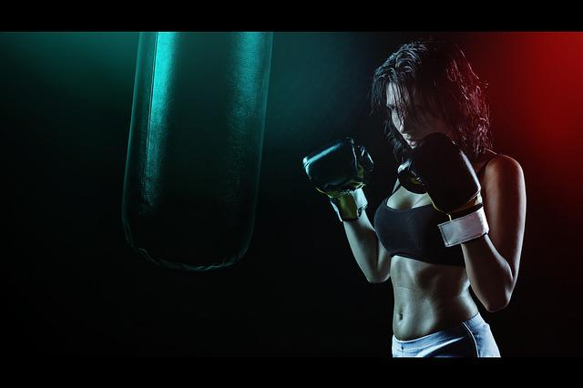 Girl, Boxer, Ring, Boxing Pear, Beautiful Girl, Gloves