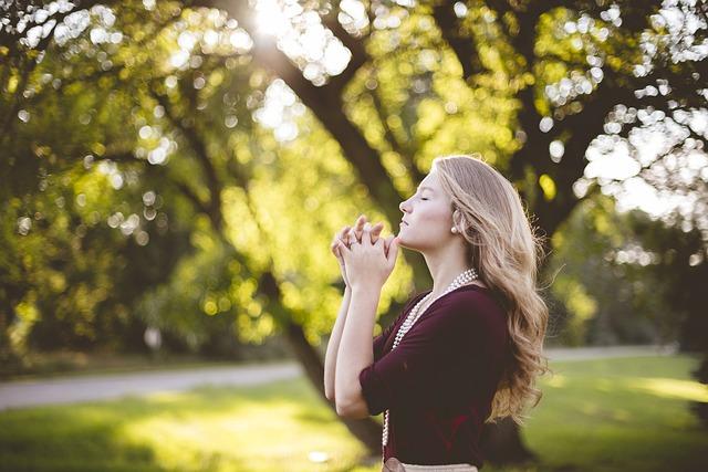 Beautiful, Blond, Blonde, Girl, Grass, Park, Tree