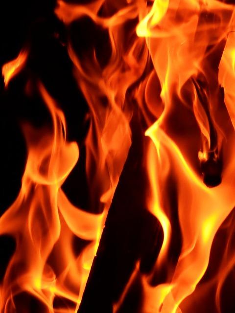 Fire, Flame, Burn, Wood Fire, Hot, Brand, Beautiful