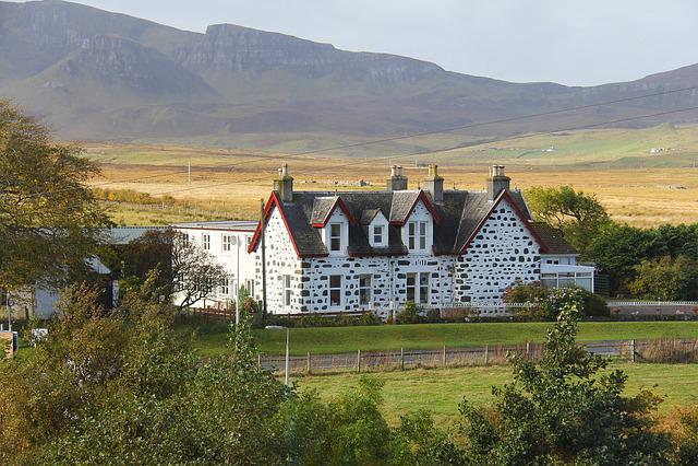 Beautiful, Tranquil, Scotland Highlands, House