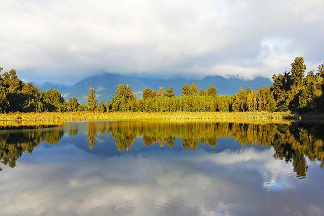 Lake, Lake Matheson, Breathtaking, Beautiful