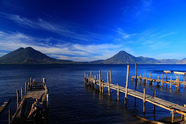 Guatemala, Beautiful, Lakes