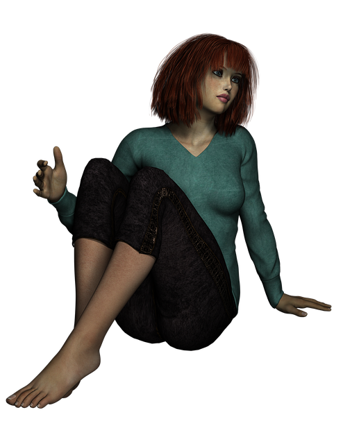 Girl, Pose, Redhead, Beautiful, Person, Model