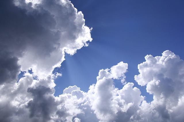 White Cloud, Sky, Beautiful Sky